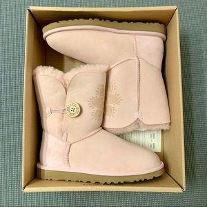 UGG 'Bailey Button Kimono Flower' Boot - Pink